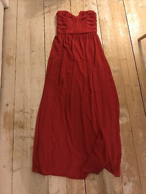 Asos Red Ball Gown Size 10  • 5£