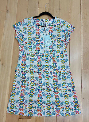 Weird Fish Reve Printed Stretch Tunic Size 14UK RRP £40 Brand New With Tags • 12.99£
