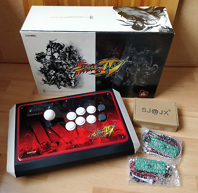 Madcatz STREET FIGHTER IV Arcade Fight Stick Tournament Edition PS3 + NEW BOARDS • 72£
