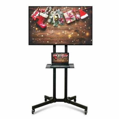 £42.49 • Buy Mobile TV Cart Floor Stand Mount Home Exhibition Trolley For 32 - 65 Flat Screen