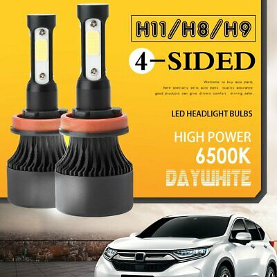 AU24.99 • Buy 4-Sides H11/H8/H9 LED Headlight 200W 20000LM High Low Beam Lights Bulbs 6500K AU