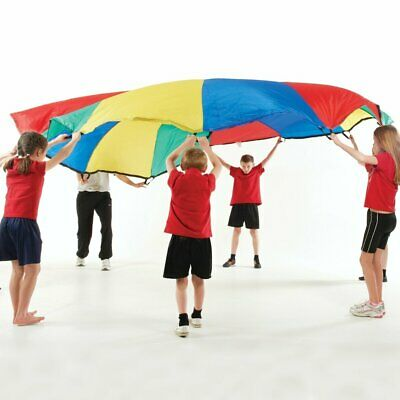 Outdoor Playing Rainbow Play Parachute 3.65M (12 Ft), Activity Games For Kids • 22.99£