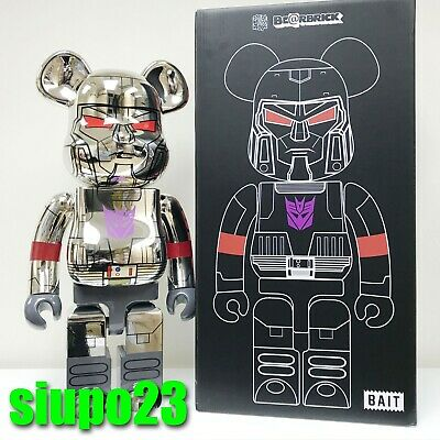 $2699.99 • Buy Medicom 1000% Bearbrick ~ BAIT Be@rbrick 2017 Transformers Megatron
