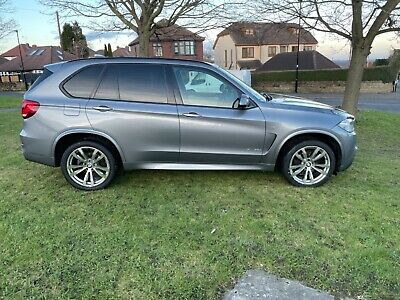 2014 14 PLATE BMW X5 3.0  M SPORT X-DRIVE MET GREY FULL LEATHER 44k FSH (MAY PX) • 22,995£