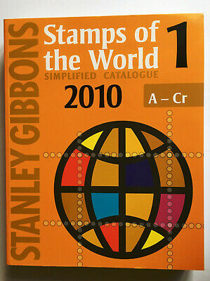 £45 • Buy Stanley Gibbons Stamps Of The World 2010 Catalogue - Vol 1-5 (Sold Separately)