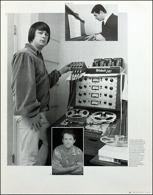 £6.99 • Buy The Beach Boys Poster Page . Brian Wilson . 4q12