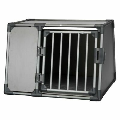 £208.99 • Buy Dog Transport Box Crate With Blankets Aluminium Sturdy Lightweight Sloped Sides