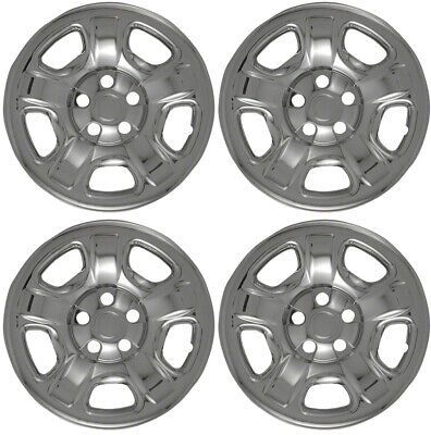 $59.96 • Buy New Set Of 4 16  Chrome Wheel Skins For 2002-2007 Jeep Liberty 16  Steel Wheels