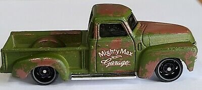 AU19.07 • Buy Hot Wheels 52 Chevy Pick Up Truck * UNSPUN * Olive Drab Green Pickup Kick-a-Bout