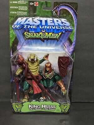 $59.89 • Buy MOTU, King Hssss, SnakeMen, 200x, Masters Of The Universe, He-Man, MOSC