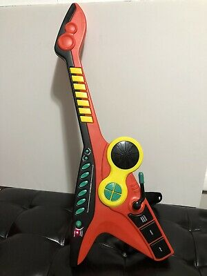 Vintage Manley 2005 Children's Toy Guitar Keyboard With Strap - Tested Works RB • 21.70£