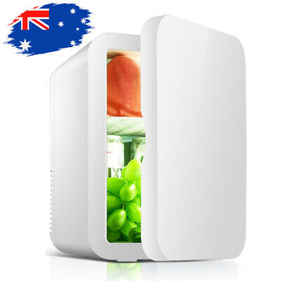 AU64.99 • Buy Portable Mint Beauty Fridge 8L With Heat And Cool Capacity Office And Car White