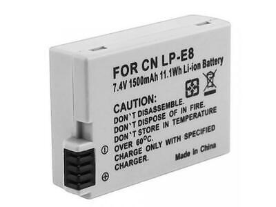Replacement Battery For Canon LP-E8 LPE8 Battery For Canon EOS 600D 650D 700D • 7.49£