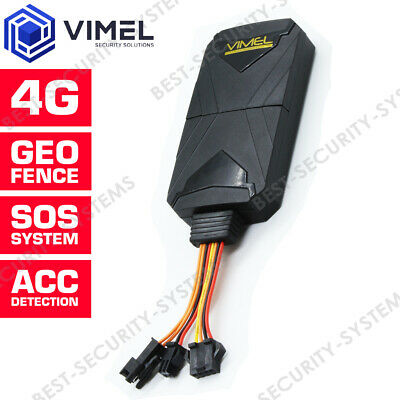 AU155 • Buy VIMEL 4G GPS Tracker Real Time Remote Listening SOS Hardwired Kit Anti-Theft