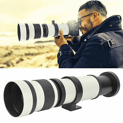 £97.85 • Buy 420‑800mm F8.3-16 Manual Focusing Zoom Telephoto Lens Telescope For Canon EF-S