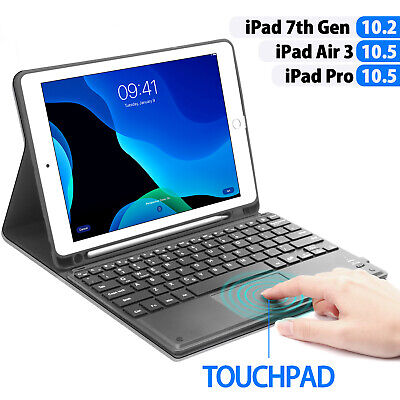 AU55.89 • Buy For IPad 9.7 10.2  8th 7th 6th 5th Gen Touchpad Keyboard Cover Case W/Pen Holder