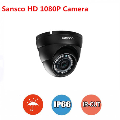 CCTV Outdoor Dome Camera HD 1080P IR Night Vision IP66 For Home Security System • 24.99£
