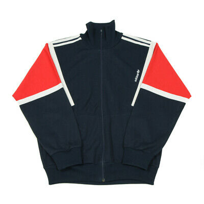 £25.59 • Buy 80s Vintage ADIDAS Made In Hungary Tracksuit Jacket   Small   Track Top Cotton