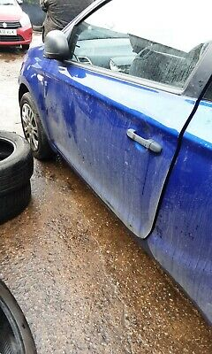HYUNDAI I20  Blue Door U6 9P  Bare   Shal 3 Door Model BREAKING / SPARES • 165£