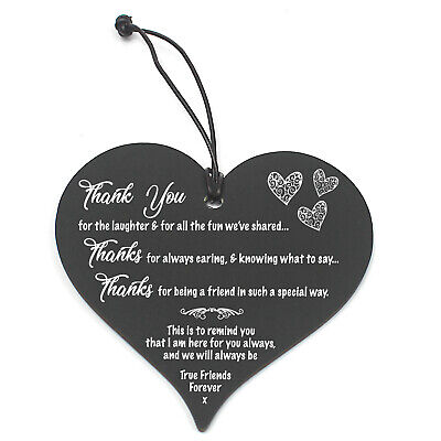 £3.99 • Buy #683 Plaque Sign Good / Best Friend Gift Shabby Chic Heart Birthday Christmas