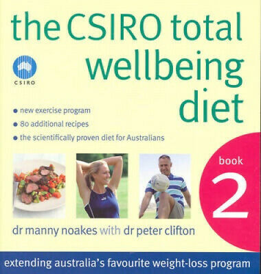 AU37.42 • Buy The CSIRO Total Wellbeing Diet Book 2 By Dr Manny Noakes