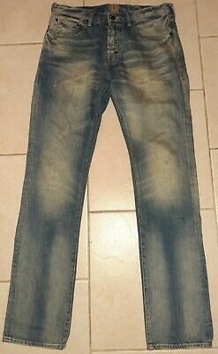 PRPS Japanese Demon Jeans Mens 33x34 • 42.91£