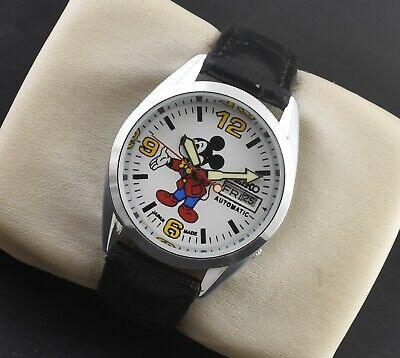 $ CDN34.99 • Buy Vintage Seiko 5 Automatic Mickey Mouse 17 Jewels Cal.6309a Day Date Men's Watch