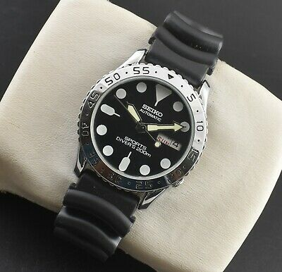 $ CDN63.02 • Buy VINTAGE SEIKO 5 AUTOMATIC SPORTS 17 JEWELS CAL.6309A DIVER's LOOK MEN'S WATCH