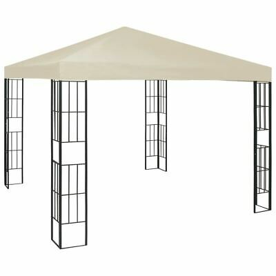 AU140.95 • Buy Gazebo Steel Frame Vented Canopy Outdoor Garden Party Tent Picnic Sunshade 3x3m