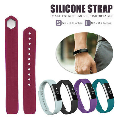 AU4.59 • Buy Silicone Bands Wristband Watch Strap Replacement Band For Fitbit Alta