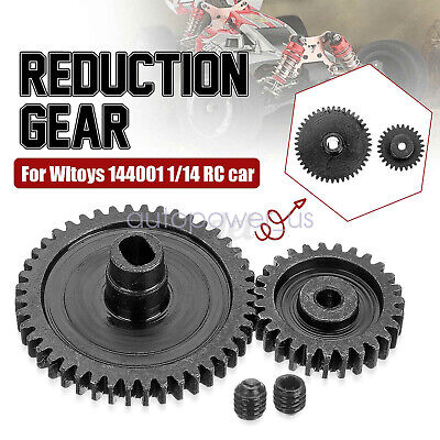 $ CDN15.34 • Buy For Wltoys 144001 1/14 RC Car Upgraded Metal Motor Gear Upgrade Reduction Gears
