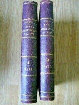 £30 • Buy The Journal Of The Royal Agricultural Society Of England Vol.11 Part 1&2  1875