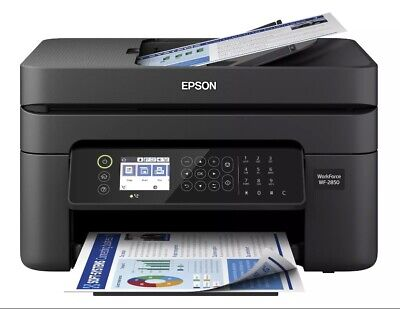 View Details Epson WorkForce WF-2850 Wireless All-in-One Color Inkjet Printer Copy Scan Fax • 114.99$