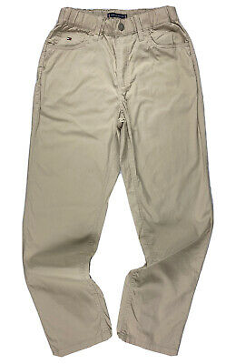 £24.99 • Buy TOMMY HILFIGER MEN/YOUTH/BOYS PULL-ON LIGHT WEIGHT CHINO BEIGE COLOUR Age12-13