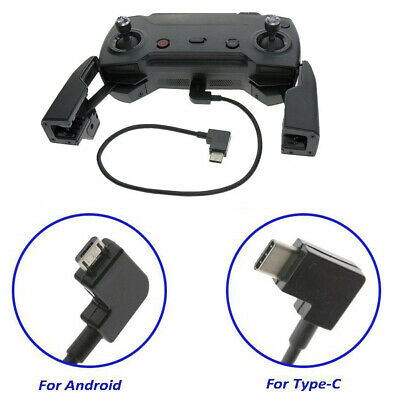 AU12.31 • Buy Micro USB Cable Type-C OTG 90° For DJI Mavic Air Spark Transmitter Control  AU