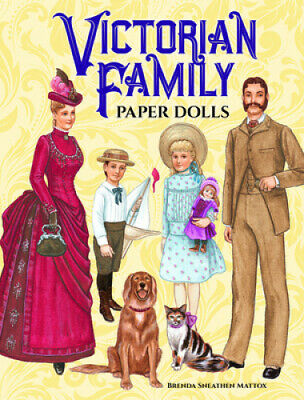 AU12.98 • Buy Victorian Family Paper Dolls (Dover Victorian Paper Dolls)