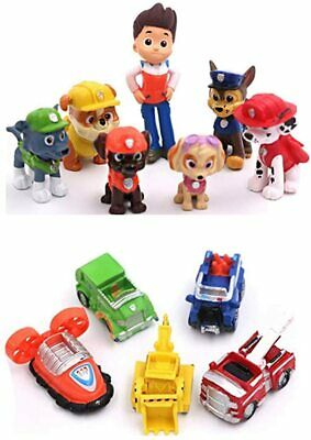 £8.42 • Buy New Paw Patrol 12pc Action Figures Kids Pockit Toys/Cake Toppers Gifts Presents.
