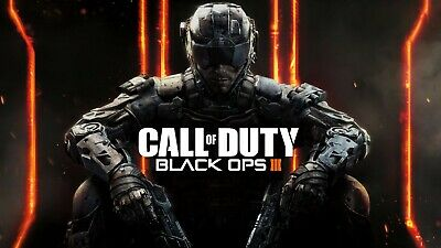 £7.95 • Buy CALL OF DUTY BLACK OPS III Gaming Poster Wall Art Sizes A5 A4 A3 A2 A1 A0
