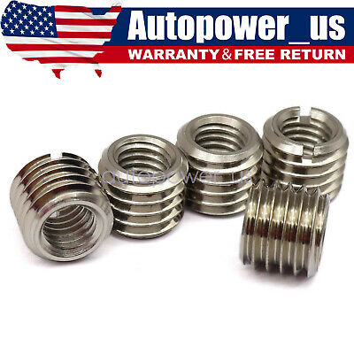 $12.39 • Buy 5 X THREAD ADAPTERS M12 12MM MALE TO M8 8MM FEMALETHREADED REDUCERS High Quality