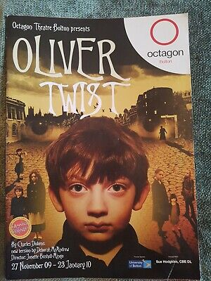 £8.25 • Buy Oliver Twist - 2009 Otagon Theatre Programme - Rare Collectable UK
