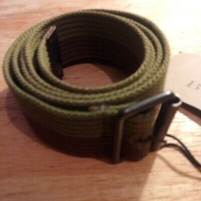 £45 • Buy Burberry Green Casual  Canvas Belt Size 26 -32  Inch Waist New With Tags