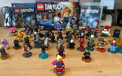 AU10 • Buy LEGO DIMENSIONS BEST CHARACTERS & PS3 + PS4 GAMES+PORTALS - Excellent Condition