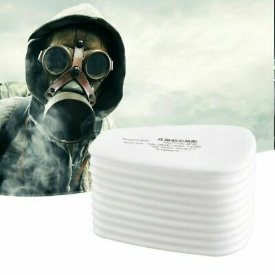 $ CDN13.36 • Buy 10-100 5N11Cotton Filter Safety Protect Replacement F 6200 6800 7502 Respirators