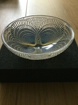 R.lalique Bowl Coquille Opalescent ,1921 , 13 Cm Diametre.sign And Number • 288.88£