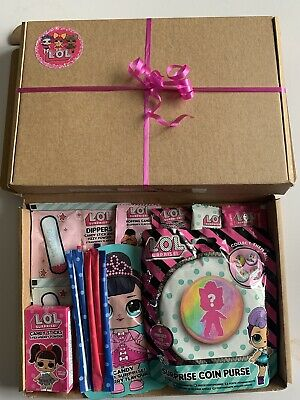 £8.99 • Buy LOL SURPRISE Gift Box Hamper Sweets Candy Sherbet Straws Surprise Coin Purse