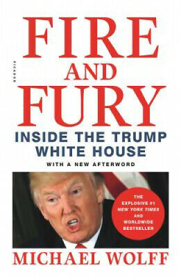 AU28.48 • Buy Fire And Fury: Inside The Trump White House By Michael Wolff