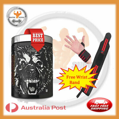 AU72.99 • Buy Inspired Nutraceuticals Dvst8 Bbd Pre Workout  25 Serev Energy Pump + Wrist Band