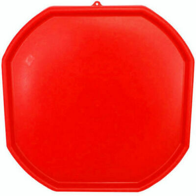 Large Red Plastic Mixing Tray Sand Water Play Children - Builders Equipment • 18.99£