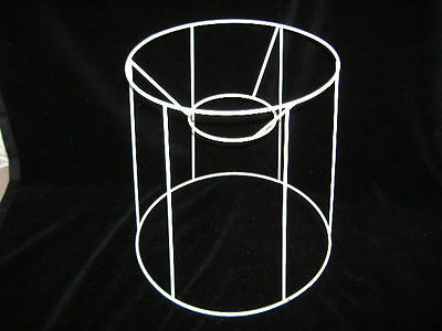 Tall Tapered Drum Wire Lampshade Frame  12  Base  • 8.90£