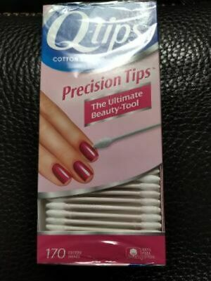 $ CDN9.09 • Buy Q-Tips - Precision Tips Cotton Swabs - 170 Ct - Sealed / New
